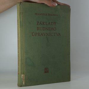 náhled knihy - Základy rudného úpravníctva