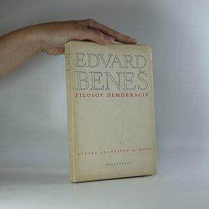 náhled knihy - Edvard Beneš. Filosof demokracie