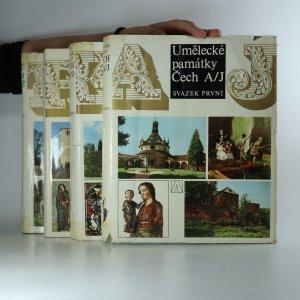 náhled knihy - Umělecké památky Čech (svazek 1. - 4.)