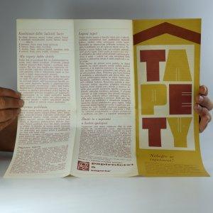 antikvární kniha Tapety, neuveden
