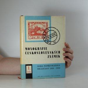 náhled knihy - Monografie československých známek I. díl