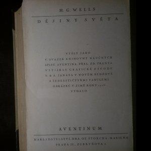 antikvární kniha Dějiny světa, 1926