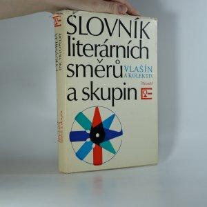 náhled knihy - Slovník literárních směrů a skupin