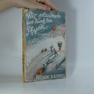 náhled knihy - Wir plaudern uns durch die Physik (Povídáme si o fysice)