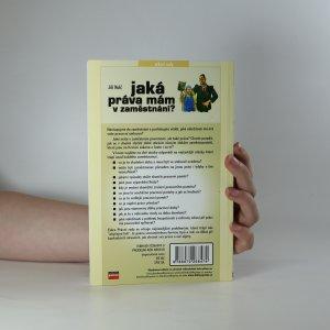 antikvární kniha Jaká práva mám v zaměstnání?, 2003