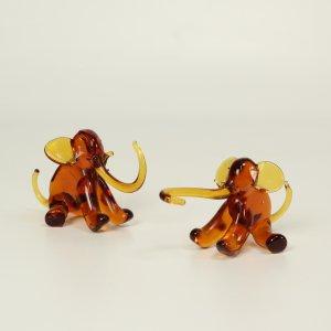 náhled knihy -  2 skleněné sloni