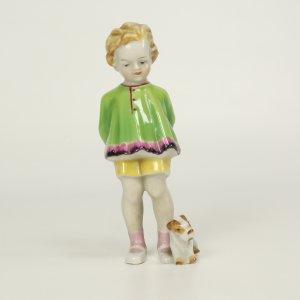náhled knihy - Holčička s psíkem