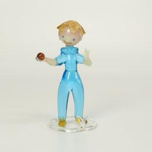 náhled knihy - Chlapec s míčkem, sklo, 1. republika