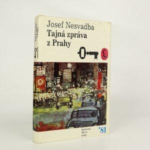 náhled knihy - Tajná zpráva z Prahy