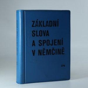 náhled knihy - Základní slova a spojení v němčině