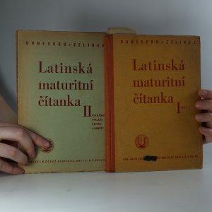 náhled knihy - Latinská maturitní čítanka I-II. (2 svazky)