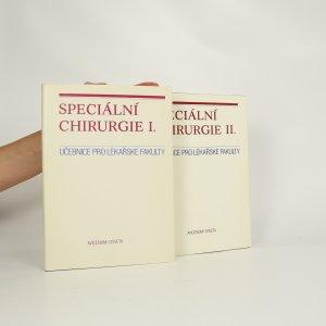 náhled knihy - Speciální chirurgie 1,2