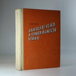 náhled knihy - Zákulisí vlád a generálních štábů