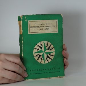 náhled knihy - Klingsorovo poslední léto a jiné prózy