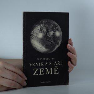 náhled knihy - Vznik a stáří Země