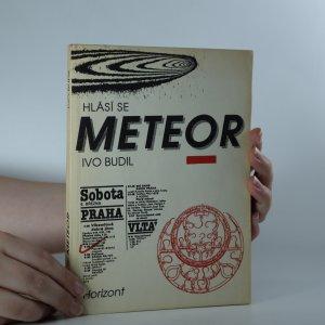 náhled knihy - Hlásí se Meteor