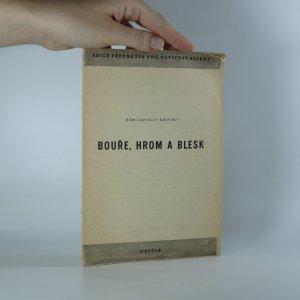 náhled knihy - Bouře, hrom a blesk