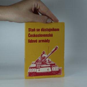náhled knihy - Staň se důstojníkem Československé lidové armády