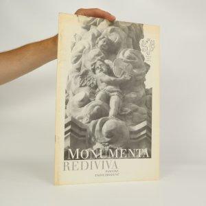 náhled knihy - Monumenta rediviva. Památky znovuzrozené