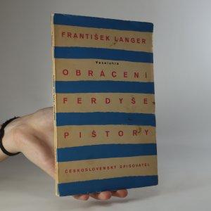 náhled knihy - Obrácení Ferdyše Pištory