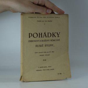 náhled knihy - Pohádky Erbenovy a Boženy Němcové. Ruské byliny.