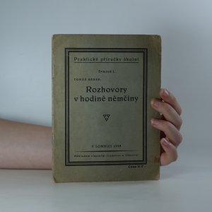 náhled knihy - Praktické příručky školní. Rozhovory v hodině němčiny (svazek I.)