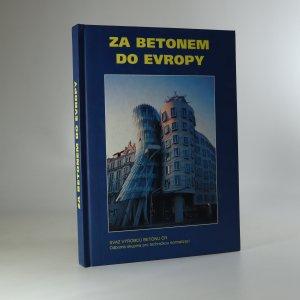 náhled knihy - Za betonem do Evropy