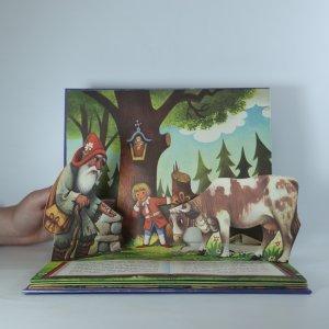 antikvární kniha Jack and the Beanstalk (pop-up leporelo, Jakub a fazolové stromy), neuveden