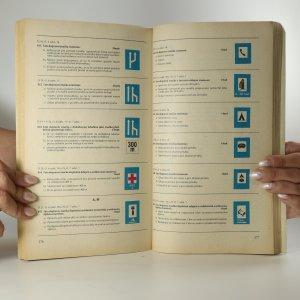 antikvární kniha Pravidla silničního provozu a zkušební testy, 1984