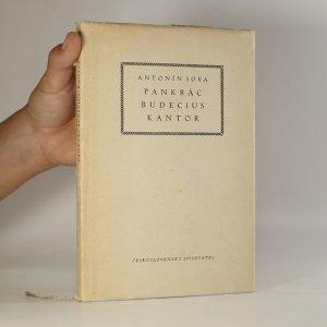 náhled knihy - Pankrác Budecius, kantor. Quasi legenda