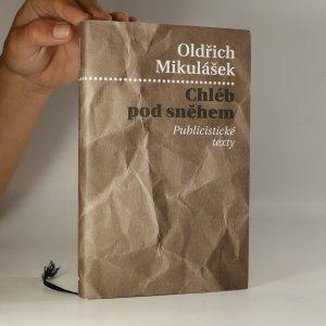 náhled knihy - Chléb pod sněhem. Publicistické texty