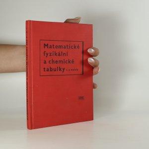 náhled knihy - Matematické, fyzikální a chemické tabulky pro sedmý až devátý ročník