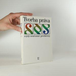 náhled knihy - Tvorba práva a její současné problémy