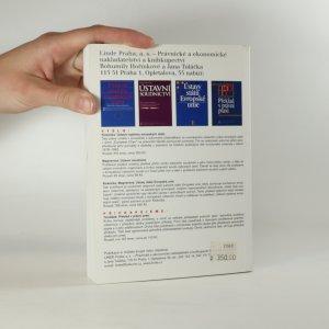 antikvární kniha Tvorba práva a její současné problémy, 1998