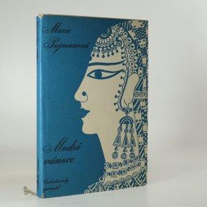 náhled knihy - Modré vánoce