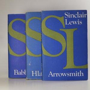 náhled knihy - 3x Sinclair Lewis (3 knihy ve 3 svazcích, viz. foto)