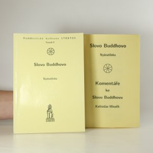 náhled knihy - Slovo Buddhovo. Komentáře ke Slovu Buddhovu.