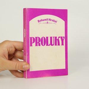 náhled knihy - Proluky (bez nakl. údajů, asi Index, Köln, 1986, v knize vlepena cenovka