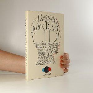 náhled knihy - A každý den ptej se devíti lidí