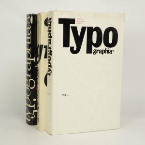 náhled knihy - Typographia I.-III. (ve 3 svazcích)