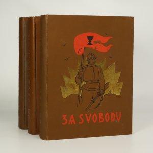 náhled knihy - Za svobodu I.-III. (ve 3 svazcích)