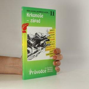 náhled knihy - Krkonoše - západ