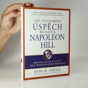 náhled knihy - Vše, co znamená úspěch, mě naučil Napoleon Hill