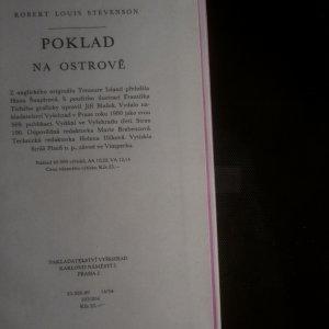 antikvární kniha Poklad na ostrově, 1980