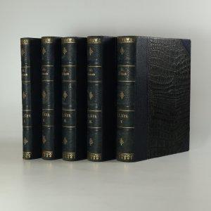 náhled knihy - F. L. Věk (5 svazků)