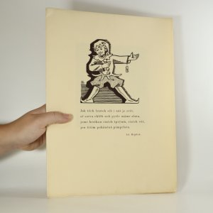náhled knihy - 9 dřevorytů s podpisem autora (neočíslovaný výtisk)