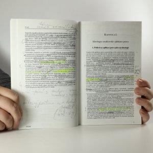 antikvární kniha Aplikace práva soudcem v éře středoevropského komunismu a transformace , 2005