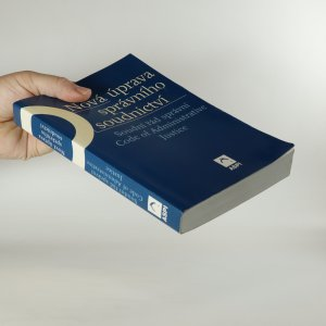 antikvární kniha Nová úprava správního soudnictví, 2003