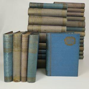 náhled knihy - Romány Emila Zoly (tituly vypsány v poznámce, 27 svazků)