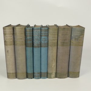 antikvární kniha Romány Emila Zoly (tituly vypsány v poznámce, 27 svazků), 1924-1926